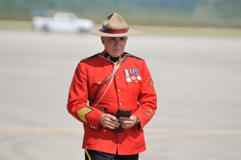 An imported mountie.